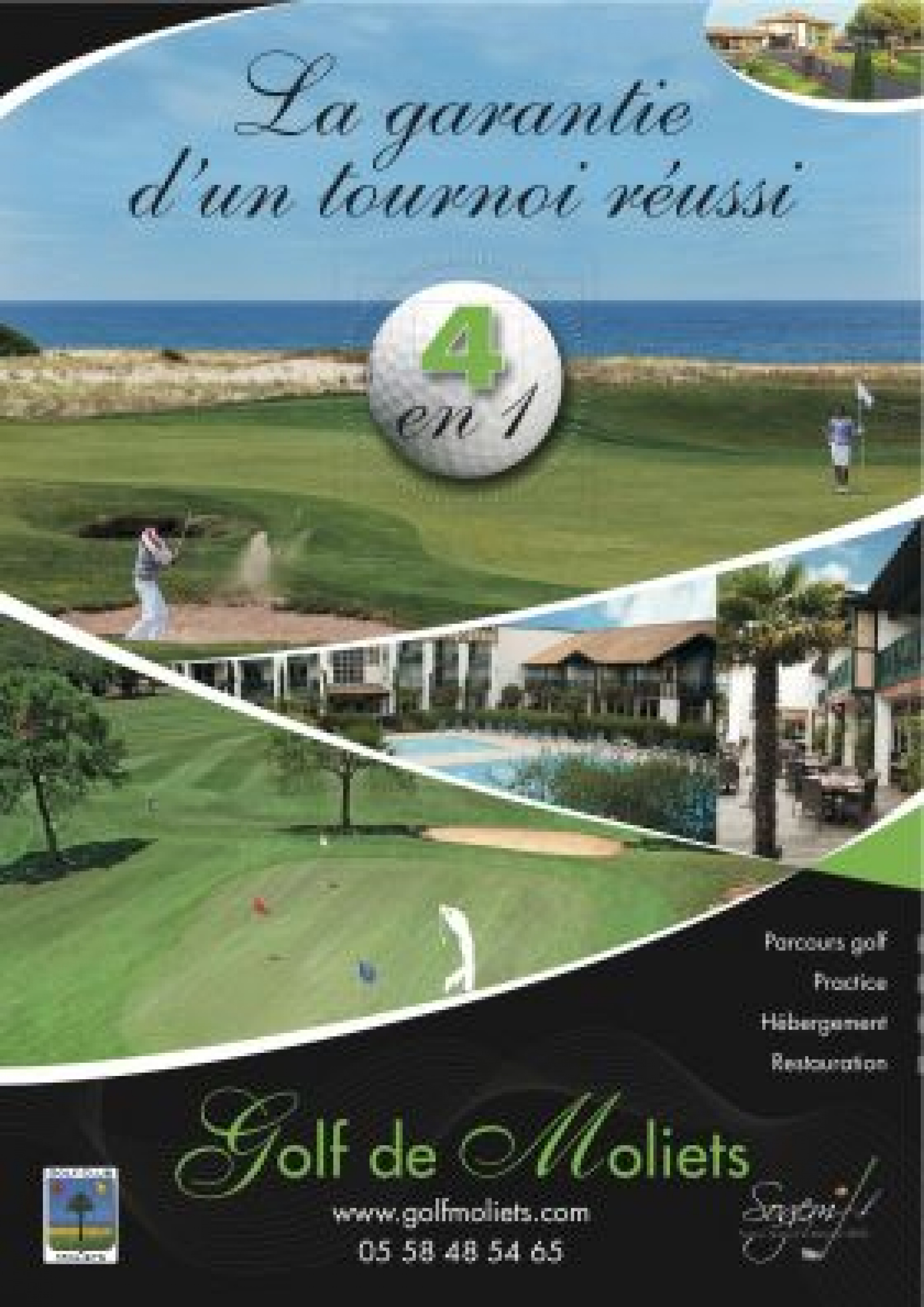 Organisez votre tournoi au Golf de Moliets