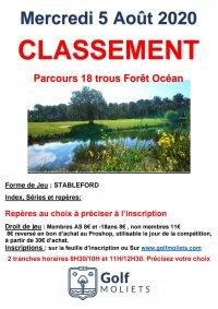 Classement Forêt Océan