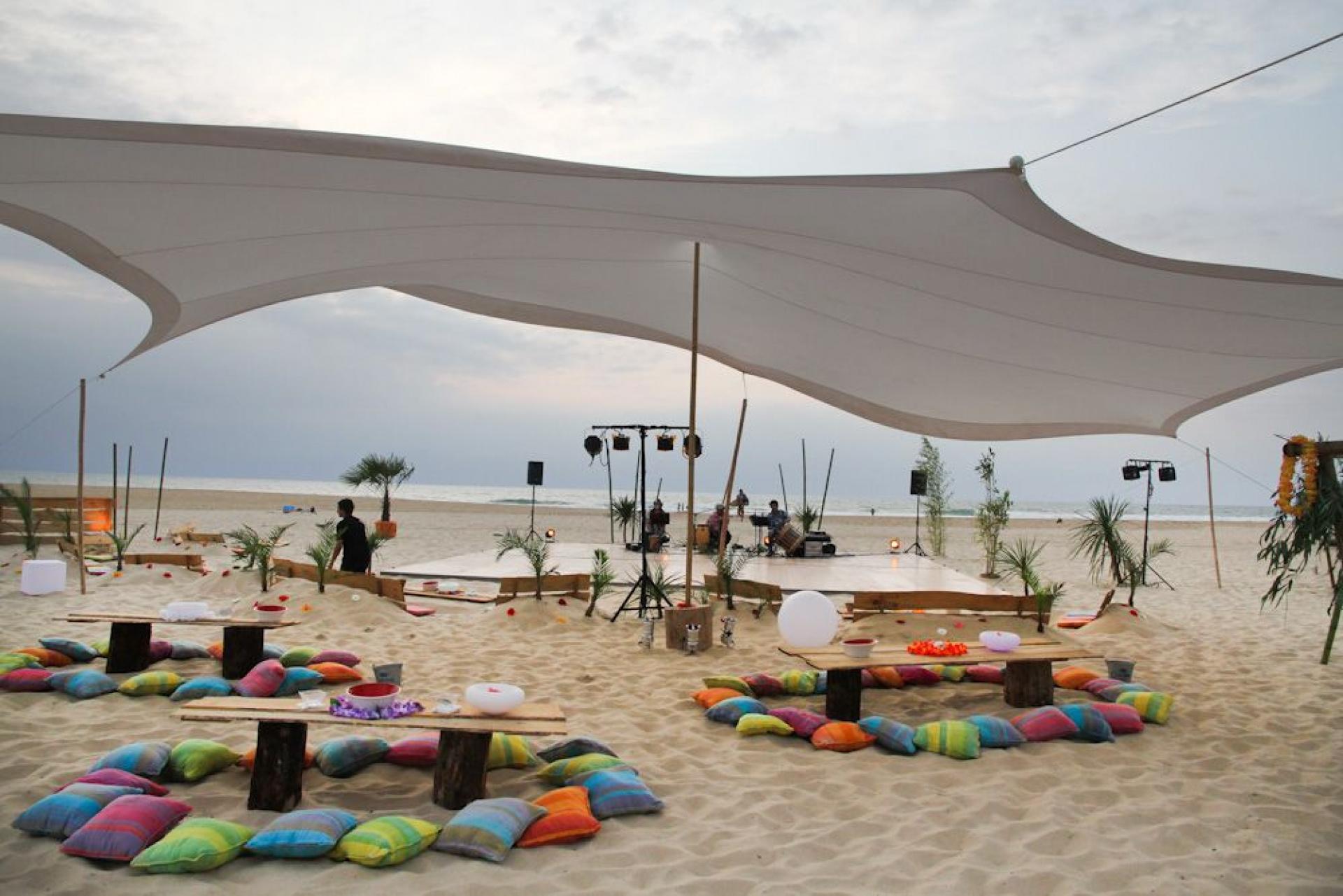 Soiree sur la plage-Centre de séminaires Moliets